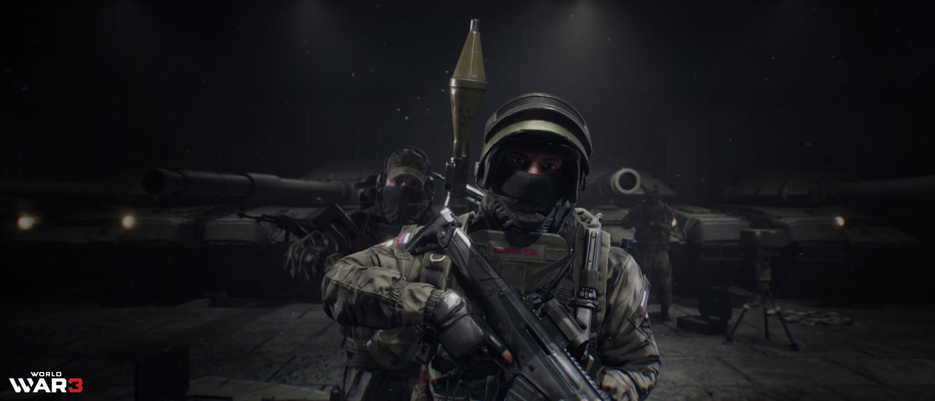 ArtStation - World War 3: Announcement Trailer, Kewin Krawczyk