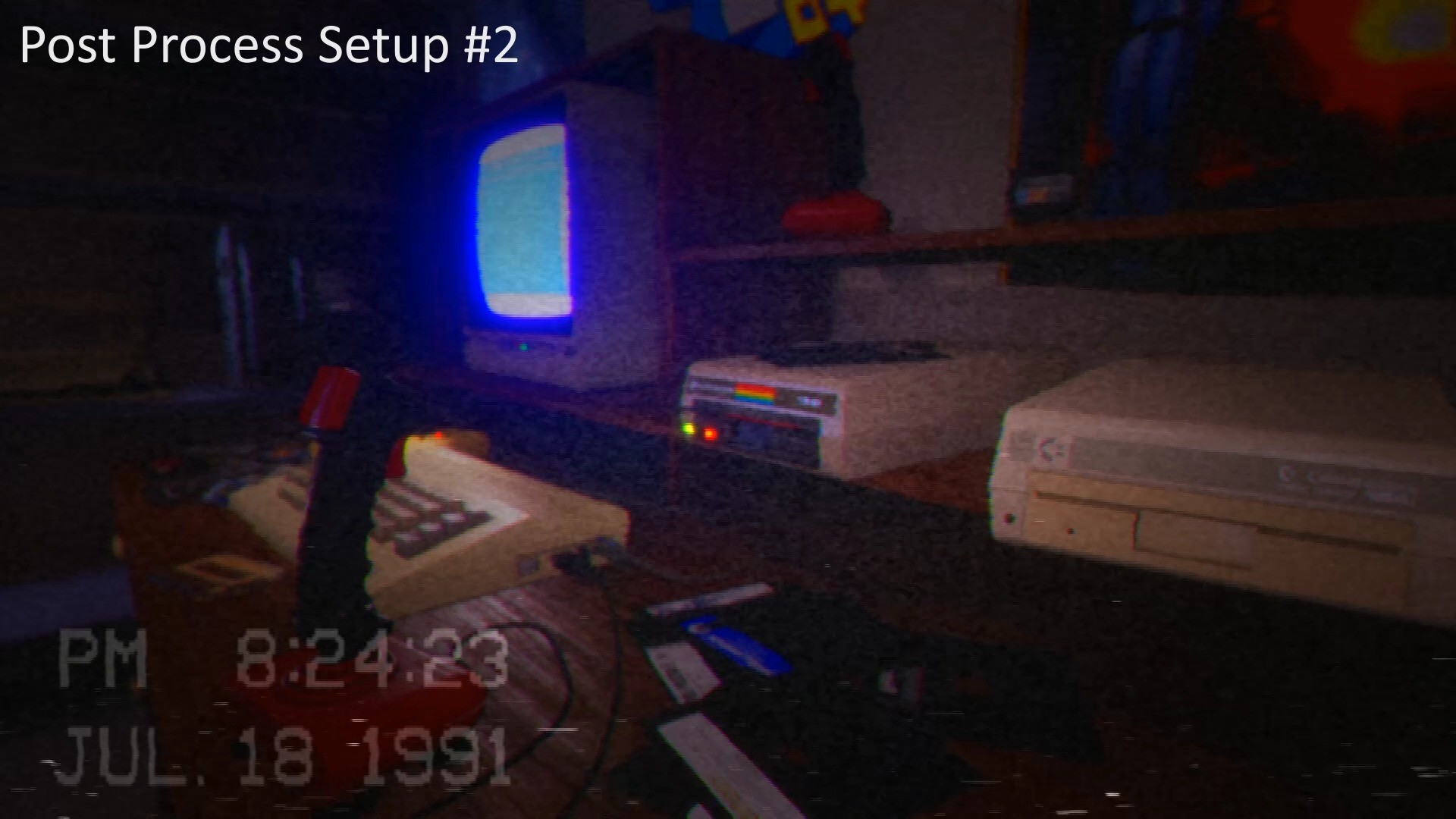 ArtStation - Animated CRT TV & VCR (VHS) Effects (Unreal Engine