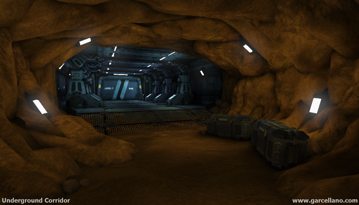 Anthony garcellano underground corridor 001 anthonygarcellano1