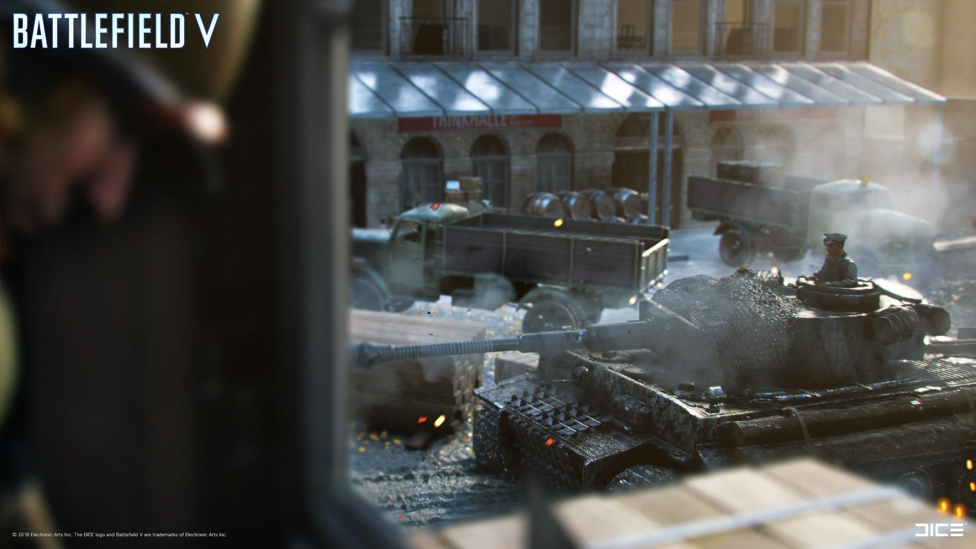 ArtStation - Battlefield V - The Last Tiger, Alexander Samuelsson