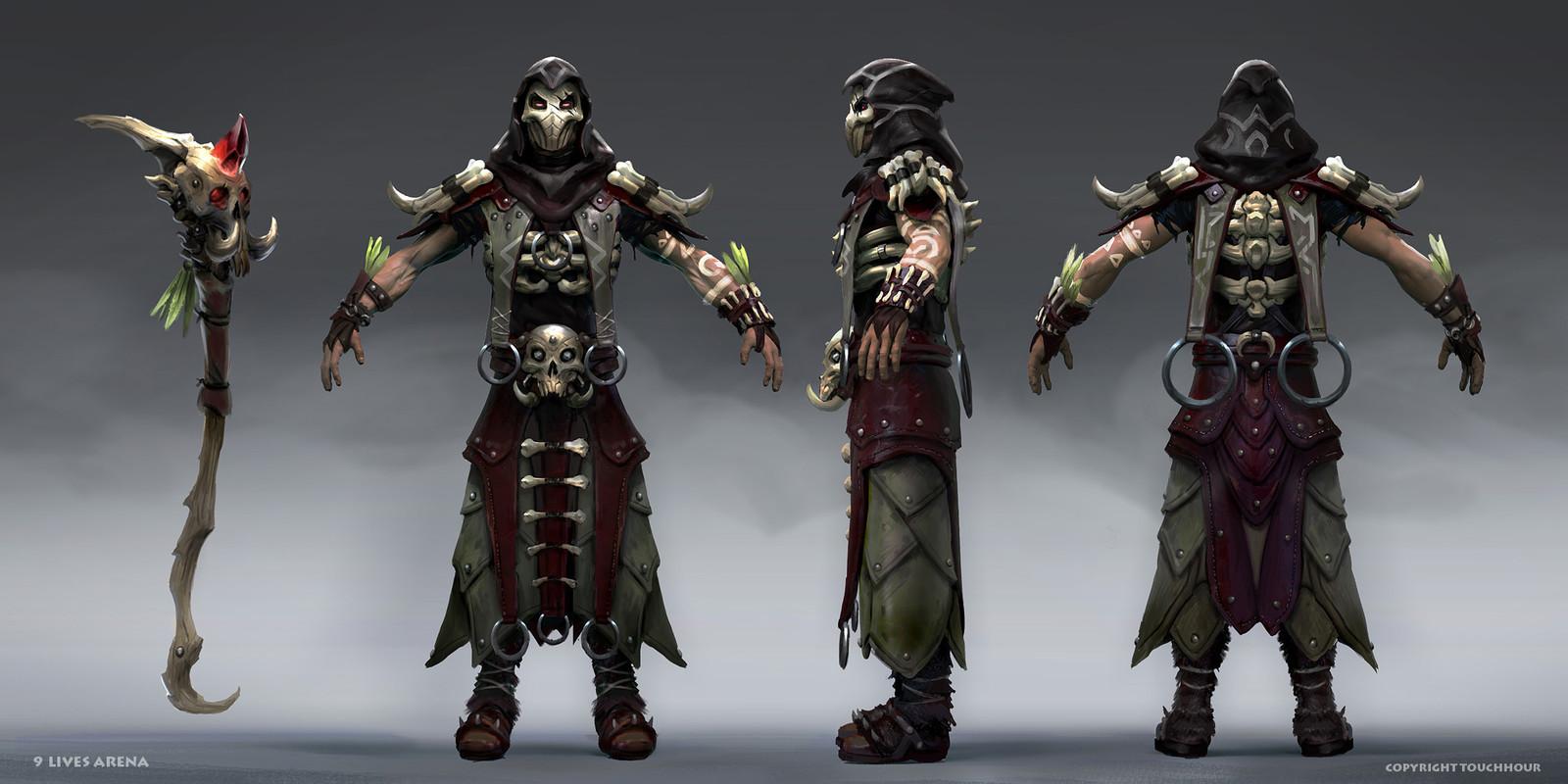 9 Lives Arena - Necromancers