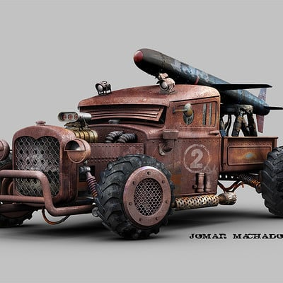 Jomar machado 162 pick up ford