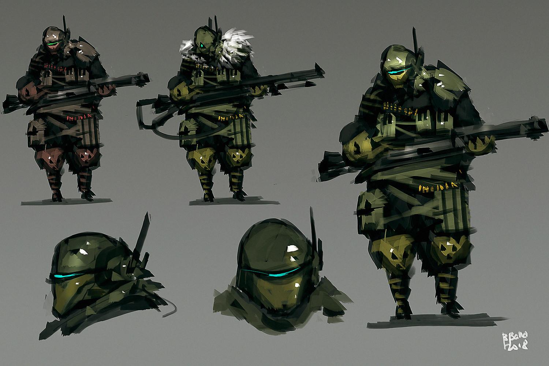 Benedick bana assault unit lores