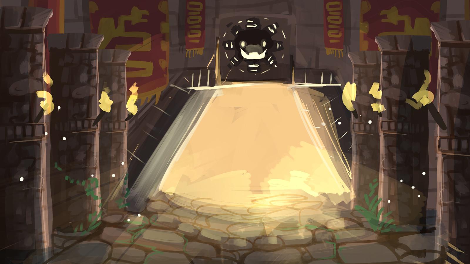 Temple of Quetzal - Entrance