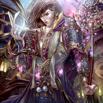 Victoria ruavell card mage