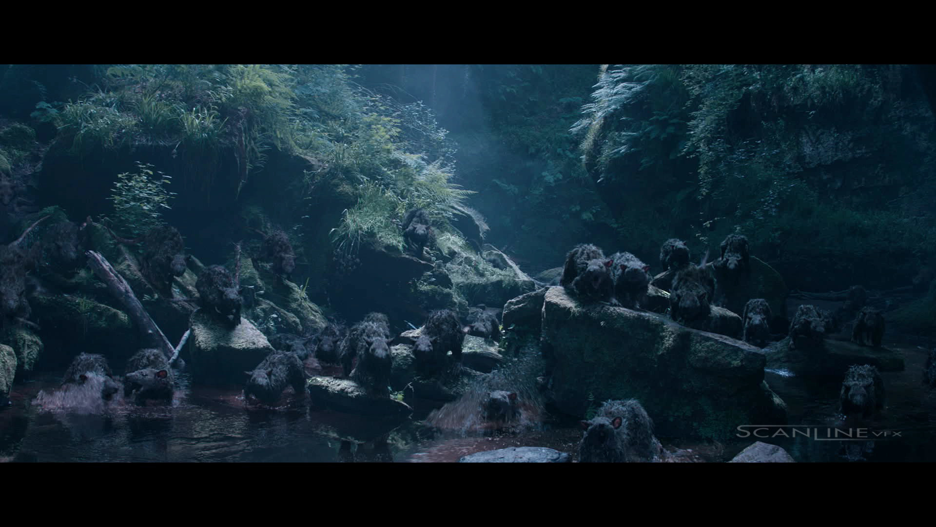 Compositing and integration work  for King Arthur - Legend of the Sword, 2017 - Work done at Scanline VFX with a team of 3D artists.  Software used: Nuke. Full CG Characters, CG Water and Plate Integration