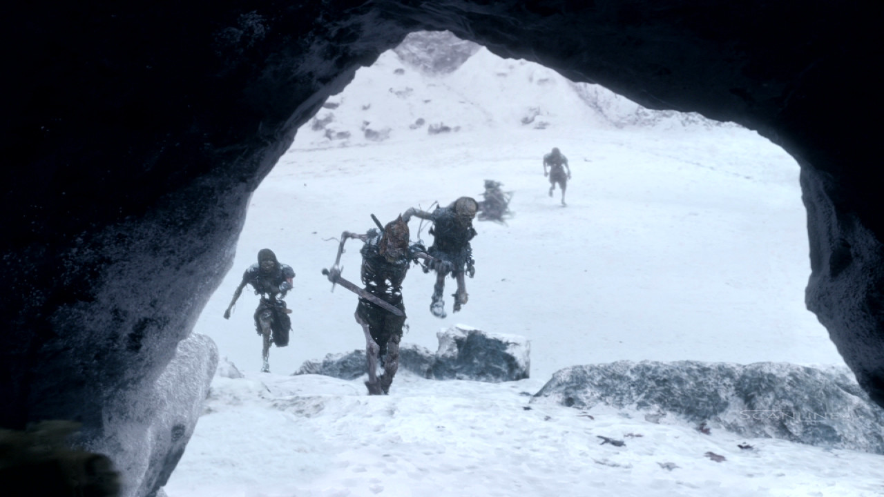 Compositing and integration work for Game of Thrones Season 5. Work done at Scanline VFX with a team of 3D artists. Software used: Nuke.  Full CG Character, DMP, FX Integration, 2D Snow Enhancement, Plate Integration.