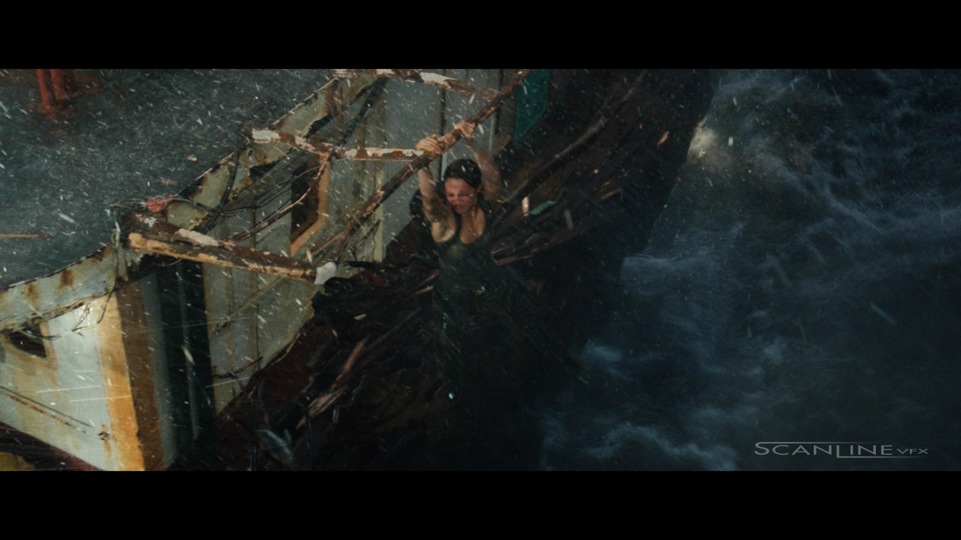 Compositing and integration work I have done in 2018 at Scanline VFX, as a Compositor. Featuring: Tomb Raider.  Green Screen + CG Boat  Damage + CG Water + Ocean Integration + 2D Elements.