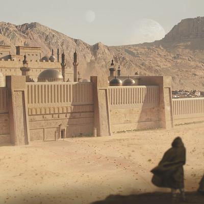 Sam denmark desert city establishingshot