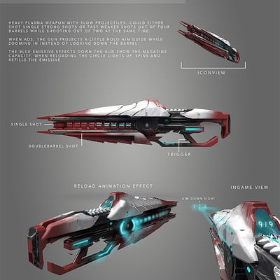 Jan philipp eckert dhs ca weapon scifi rifle 03
