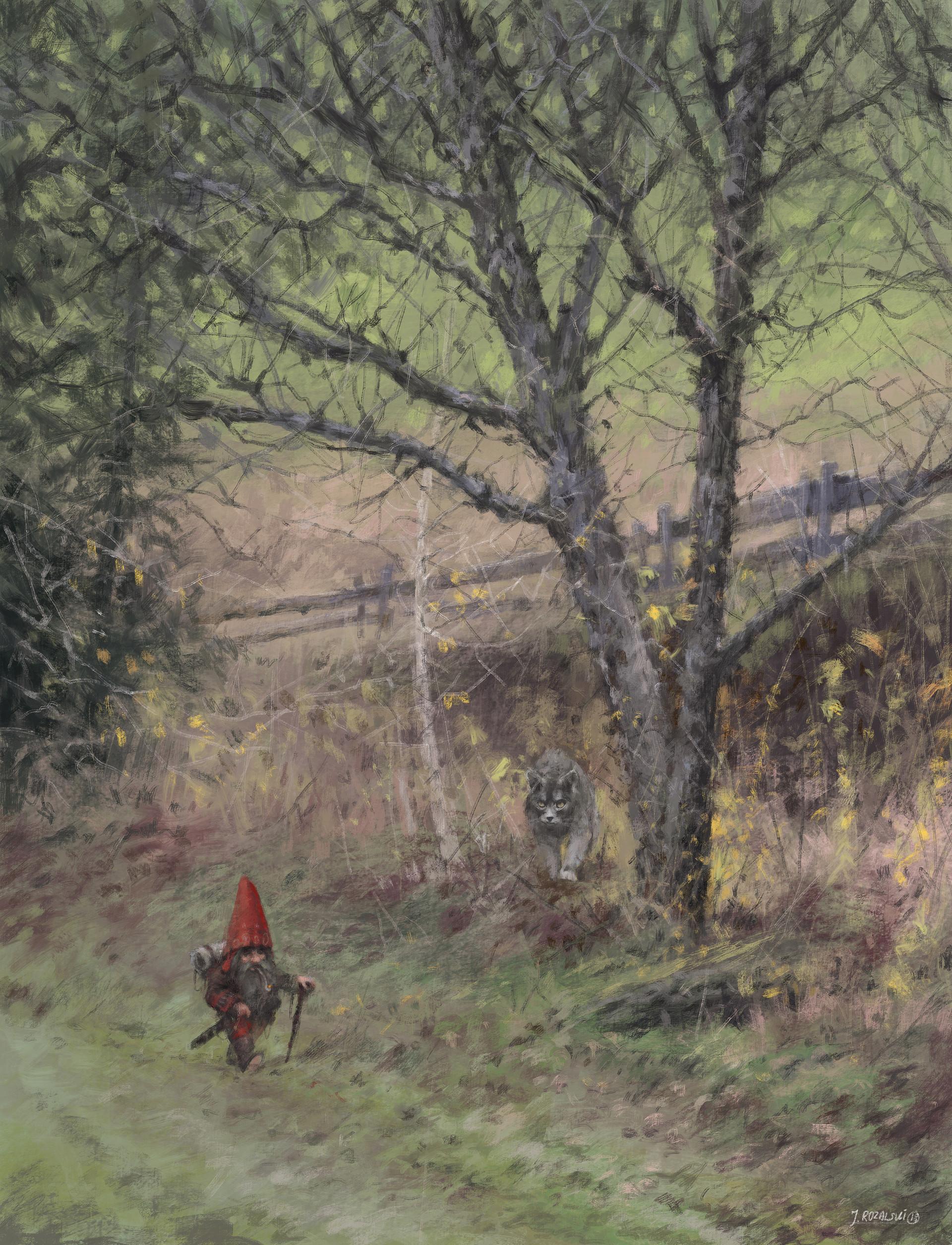 Jakub rozalski gnome study01s