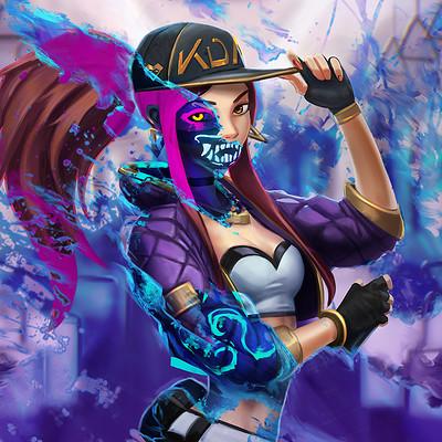 KDA Akali - League of Legends