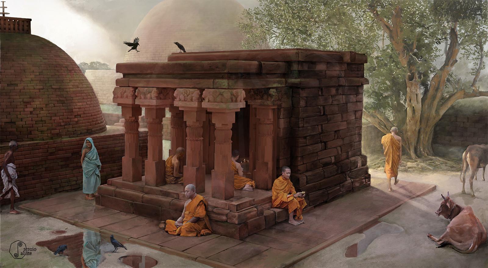 Sāñcī - Temple 17