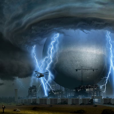 Travis lacey weather machine concept art travis lacey radar system weather lightning web