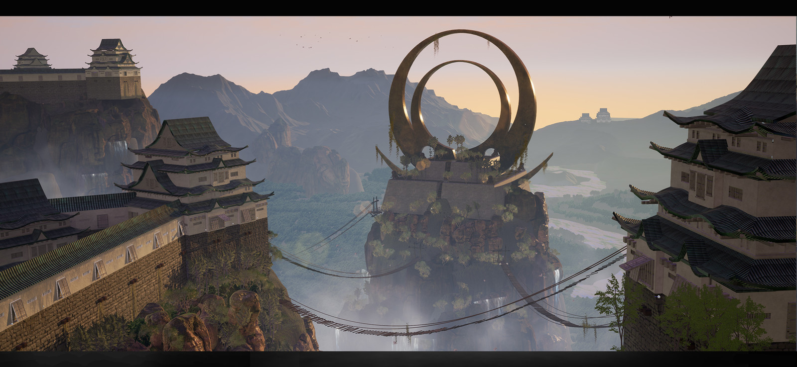 Feudal Japan: The Shogunate Game Environment/Level Art