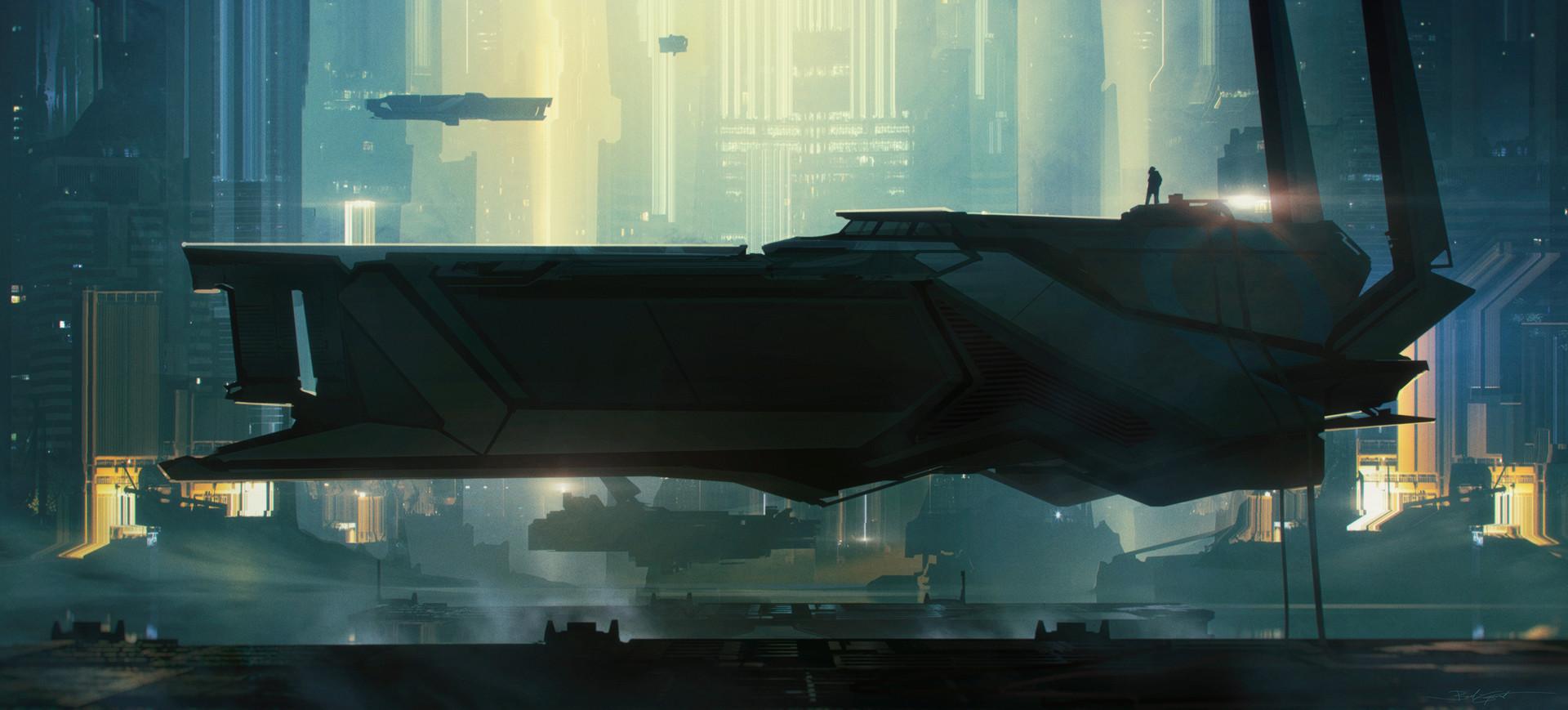 Bastien grivet spaceship trop cool