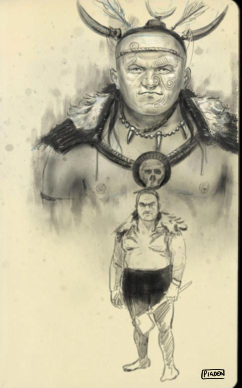 Christopher pigden tribal