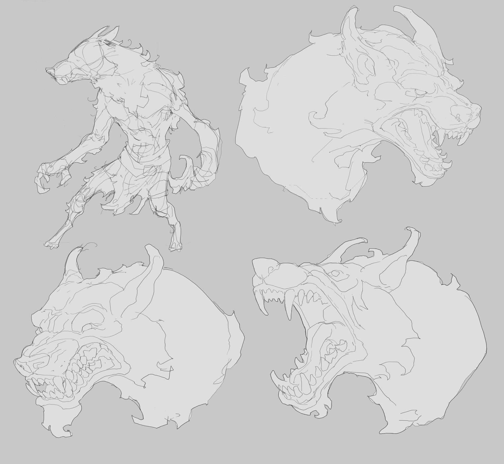 Jason borne werewolf