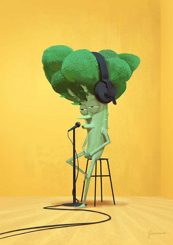 Daily Broccoli Ballad