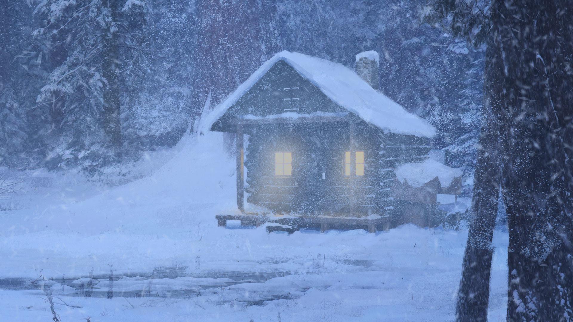 Sabina lewis snowyforest final closeup1