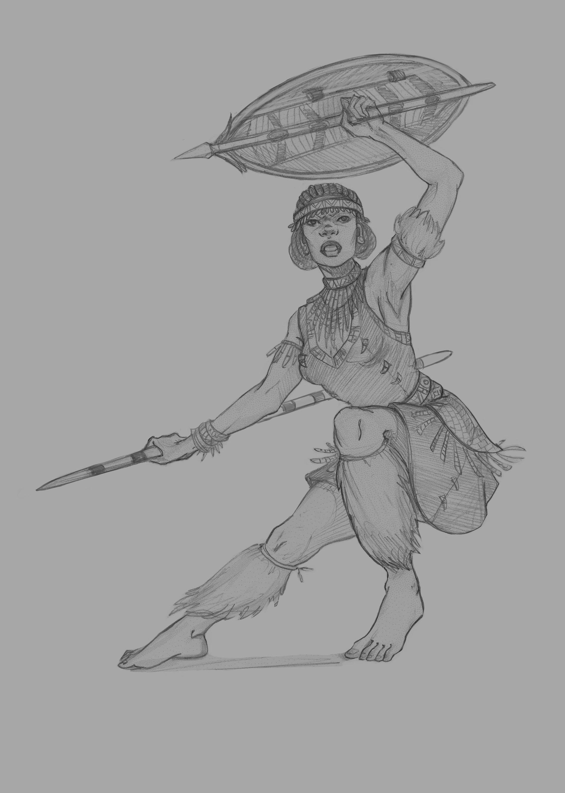 Beatrice pelagatti shielded stx sketch