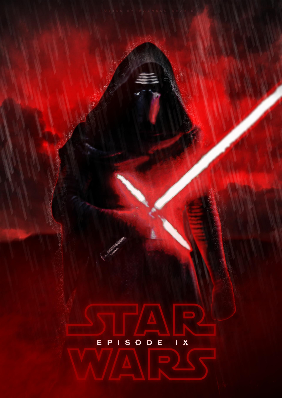 ArtStation - kylo ren teaser poster for star wars episode ... - photo#35
