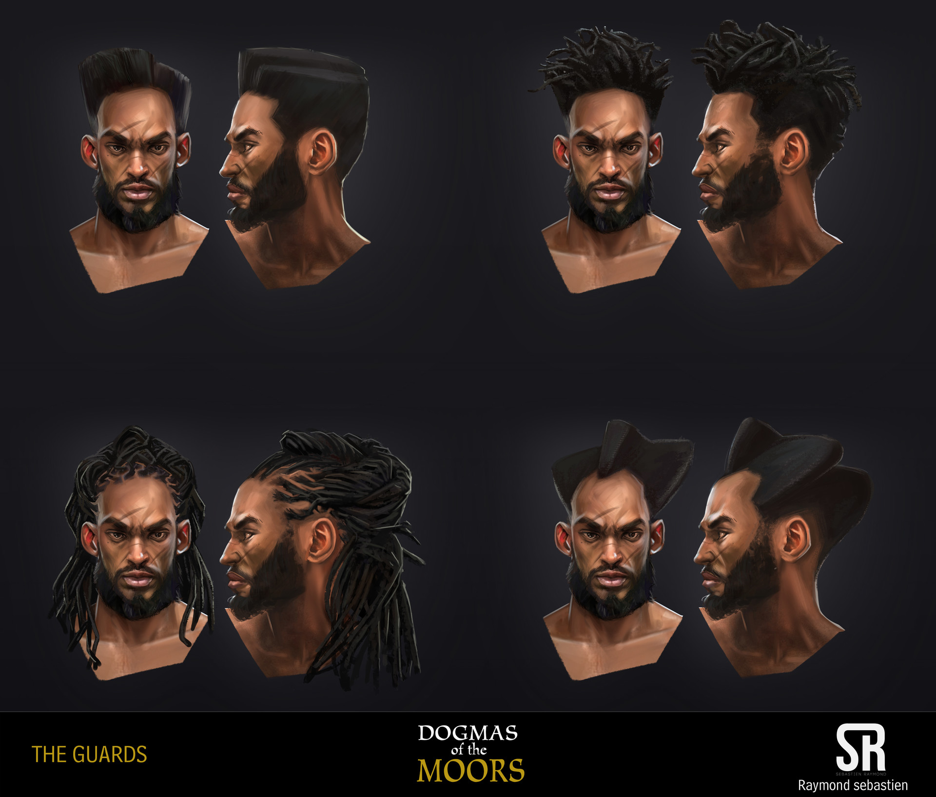 haircuts 1/2