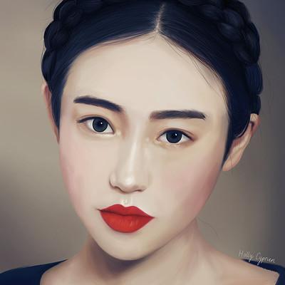 Holly cyprien oriental girl
