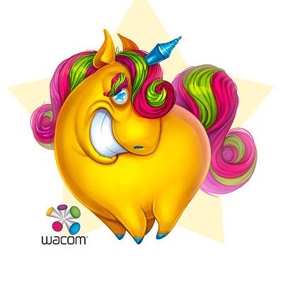 Andrey kamenov wacom mascot 04