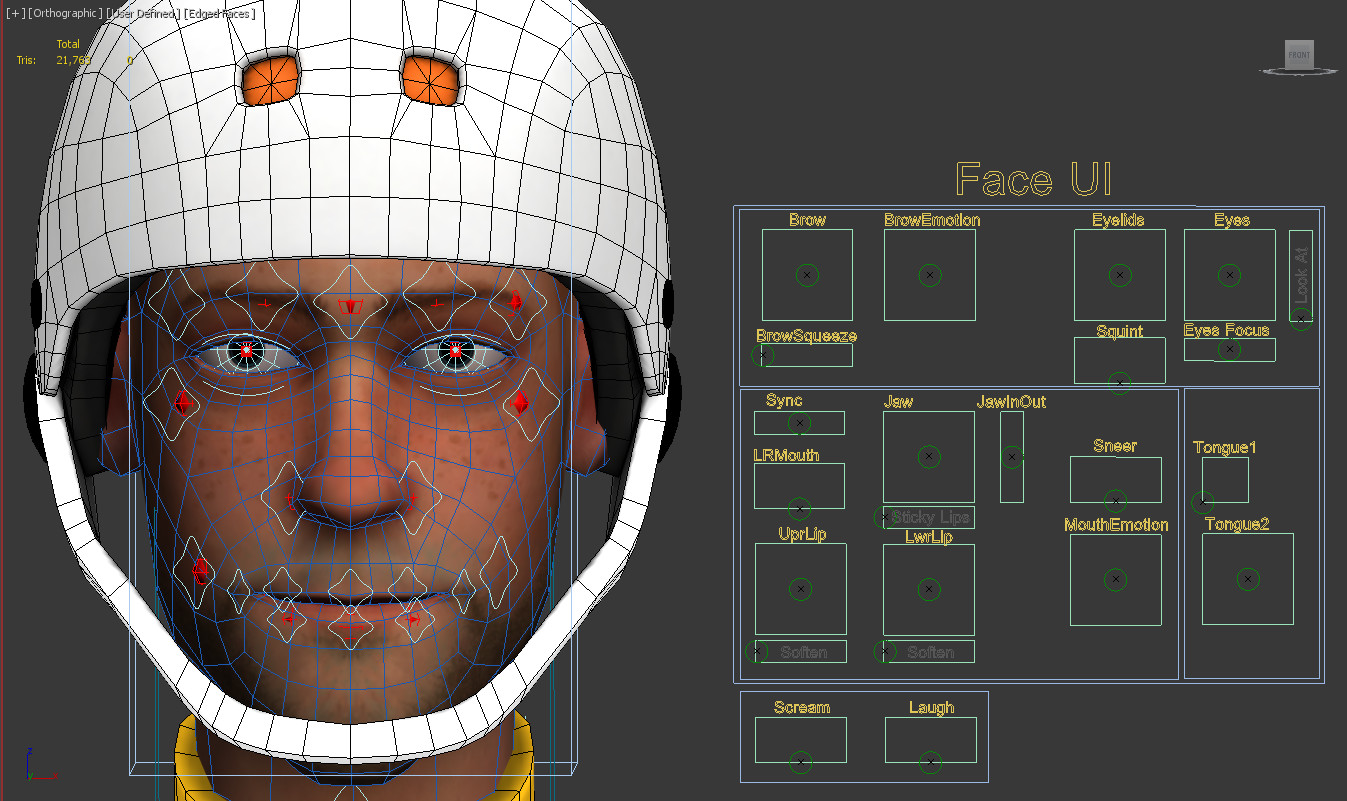 ArtStation - Guest Character Rig: ScreamRide (Xbox One/Xbox 360