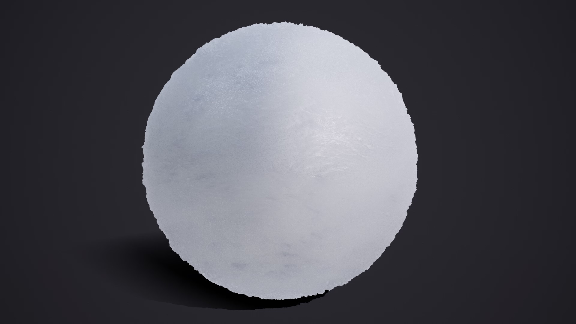 Basic Snow used as base material.