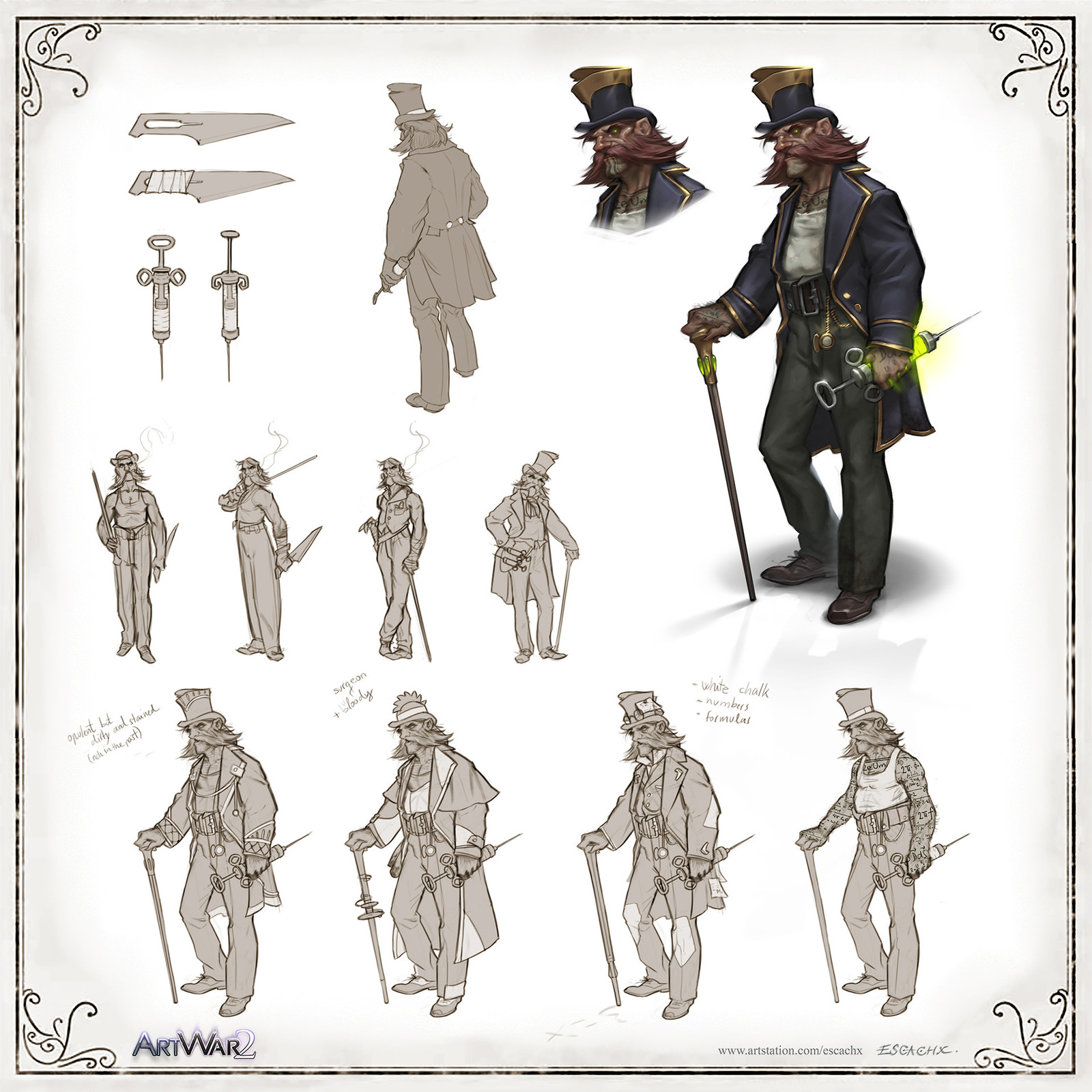 Dr:Jekyll concept sheet