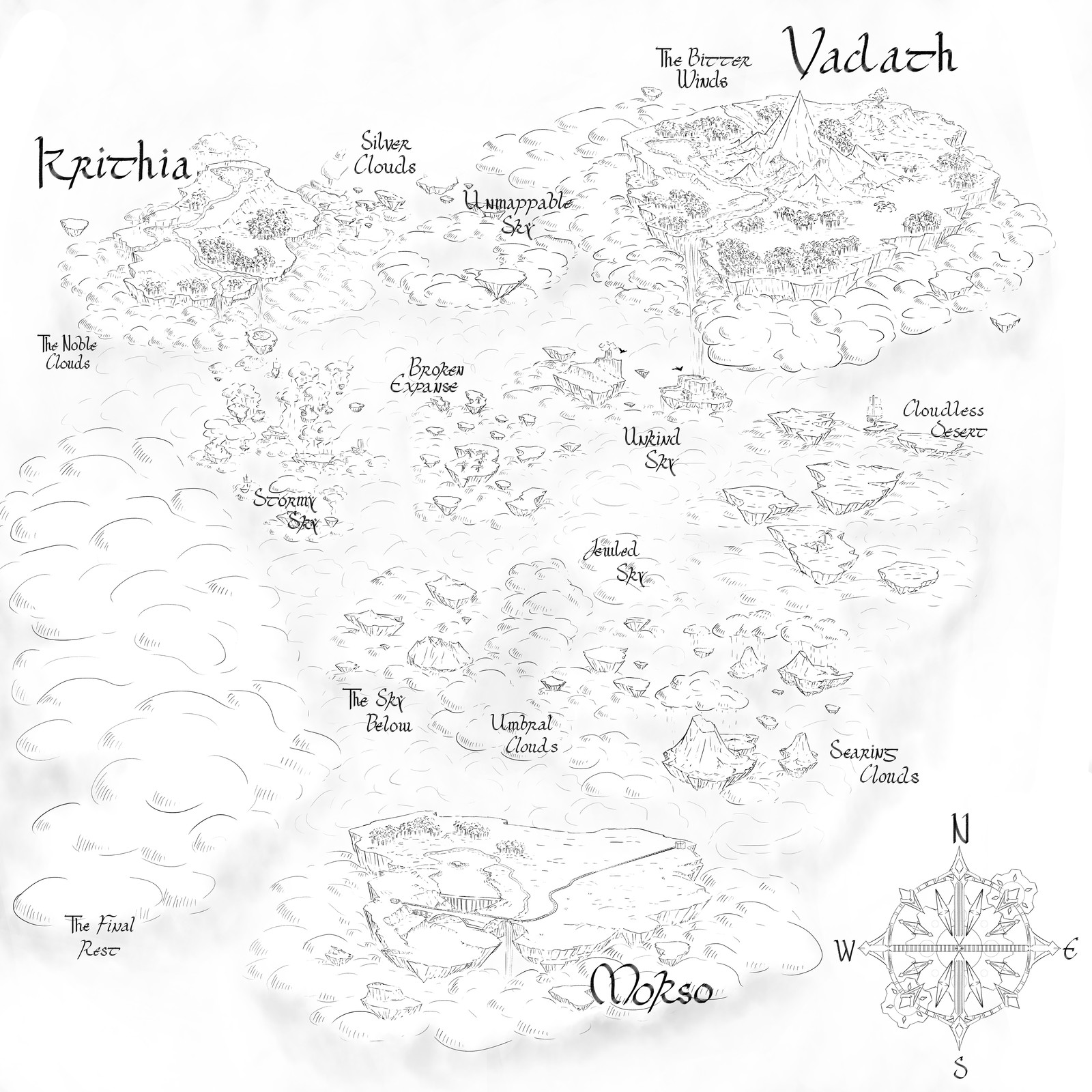 Map for clients rpg