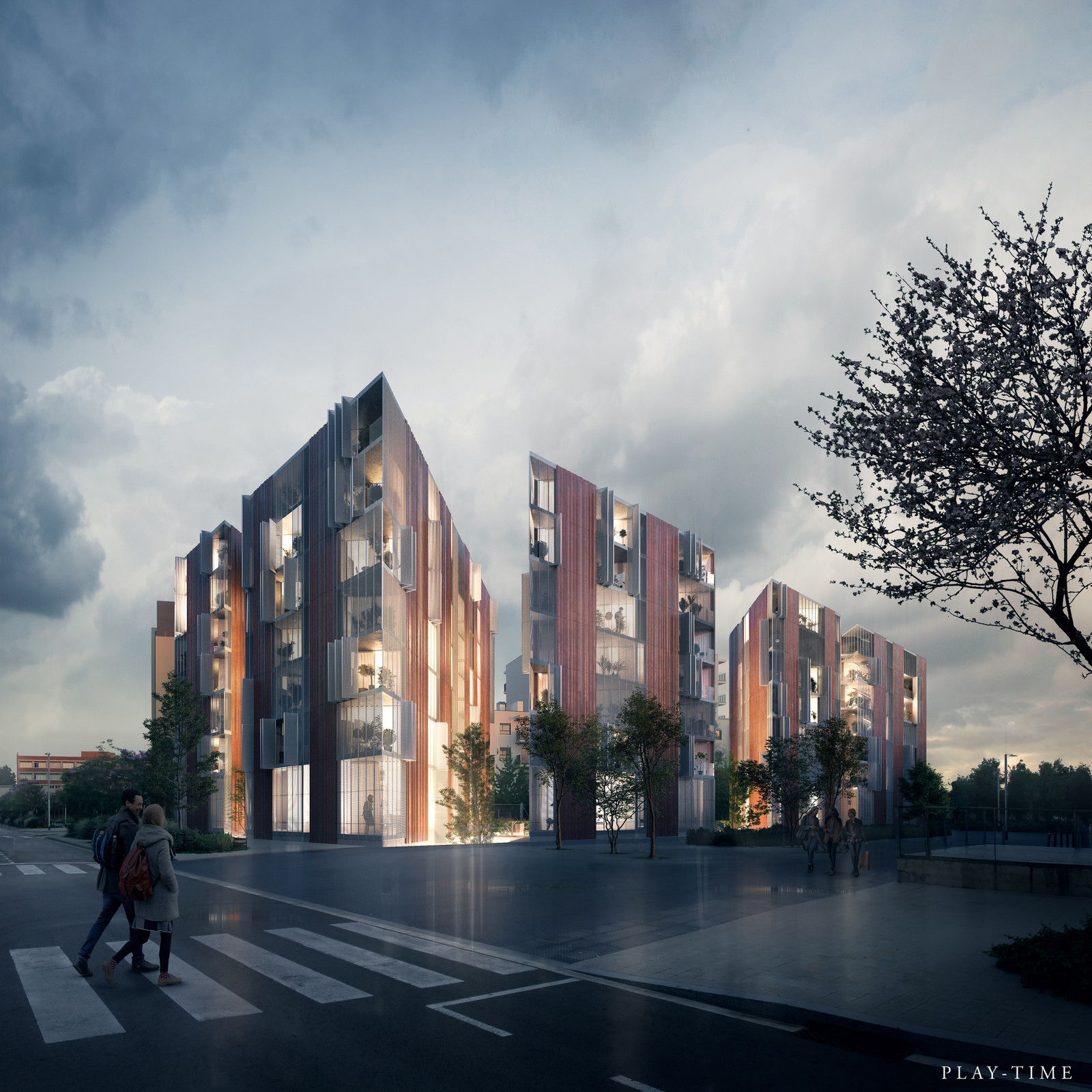 Ulldecona Street housing competition