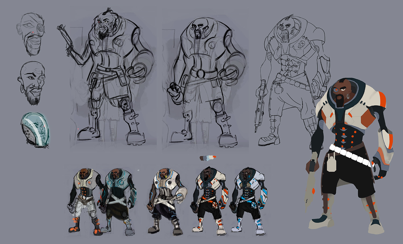 Character variants exploration