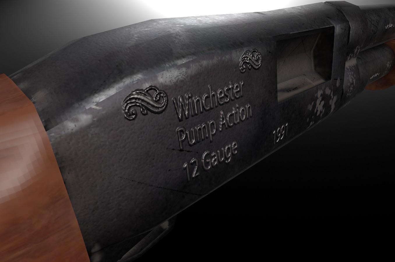Gauge winchester shotgun 12 12