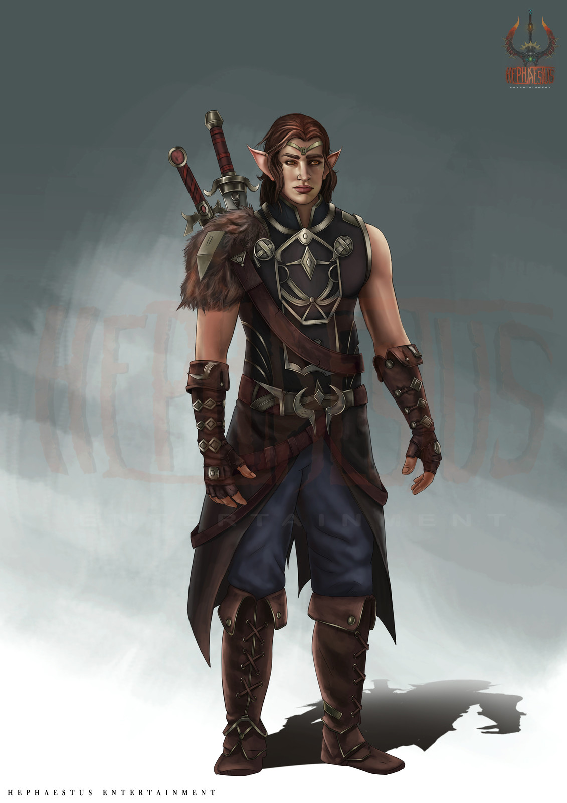 Archer male Character