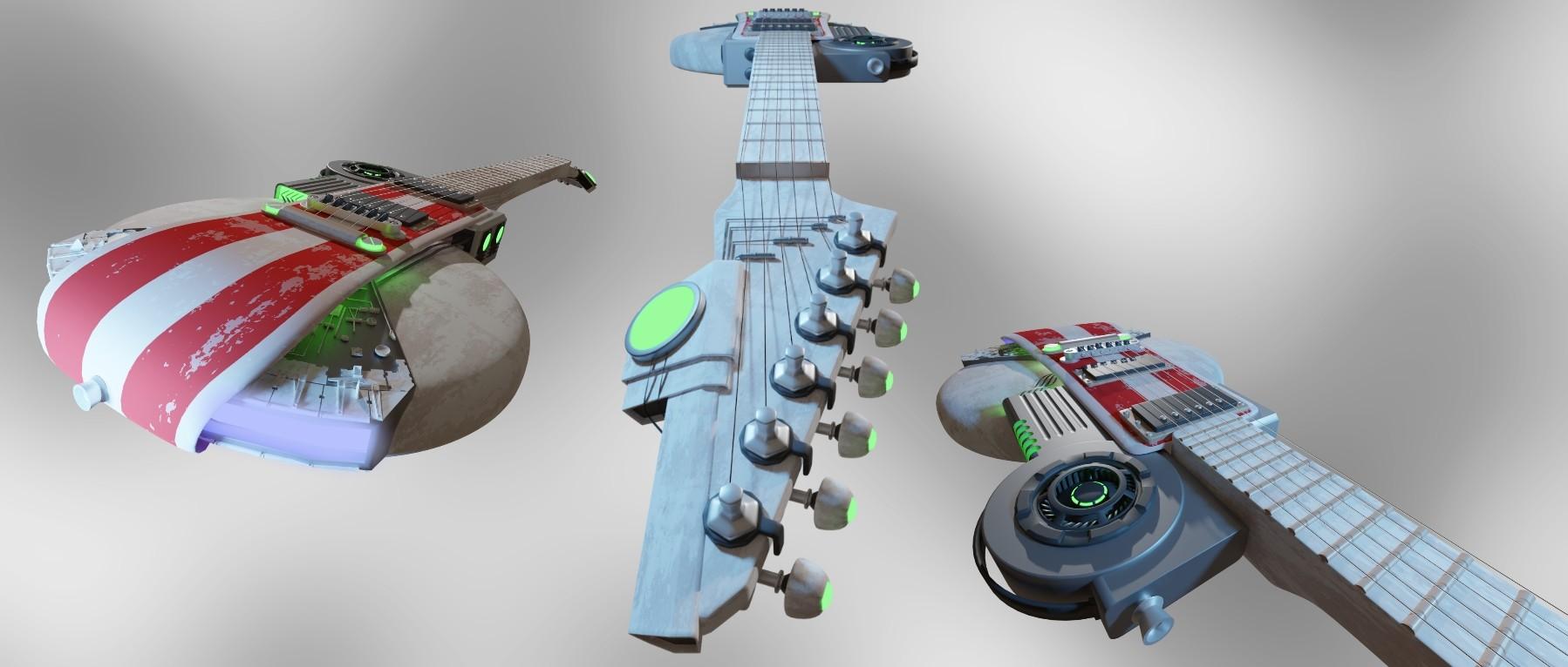 Christofer c jansson sw guitar no1