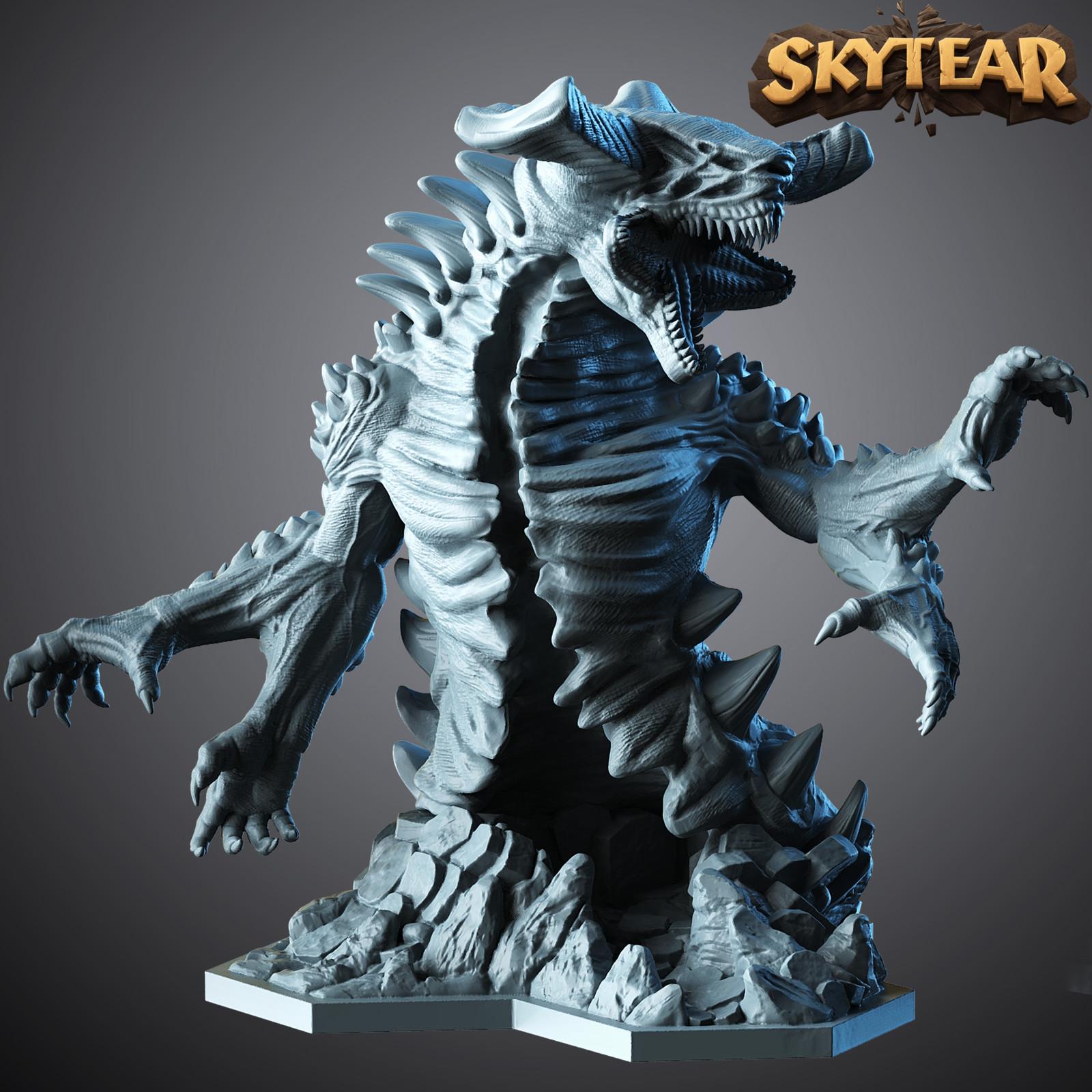 Skytear boardgame miniatures - Outsider