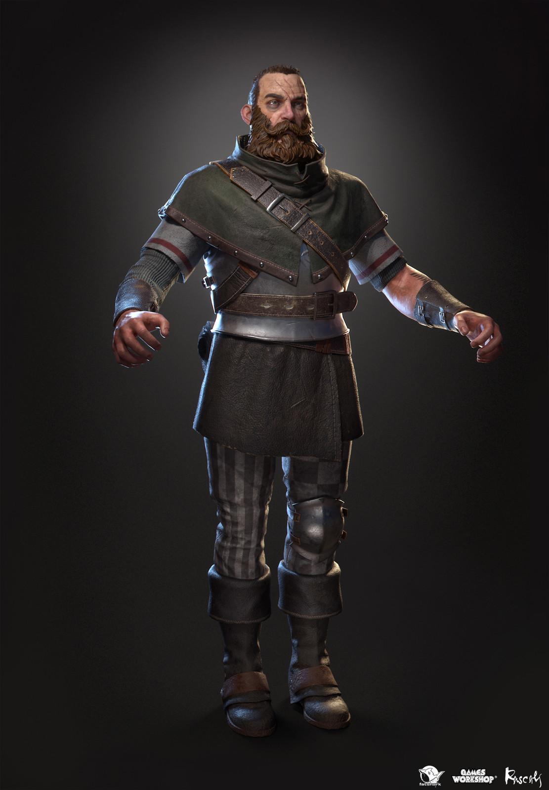 Markus Kruber: Huntsman is one of the playable hero variants Rascals made for Warhammer: Vermintide II, Fatshark's award-winning co-op meelee action published by Games Workshop.