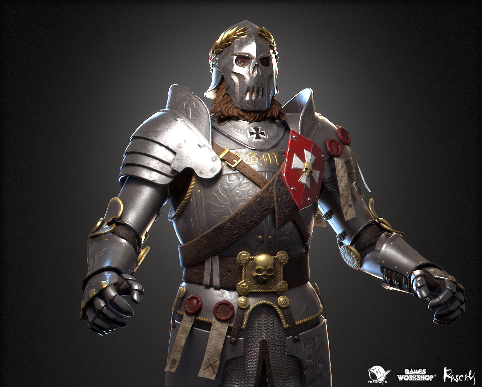 Markus Kruber: Foot Knight is one of the playable hero variants Rascals made for Warhammer: Vermintide II, Fatshark's award-winning co-op meelee action published by Games Workshop.