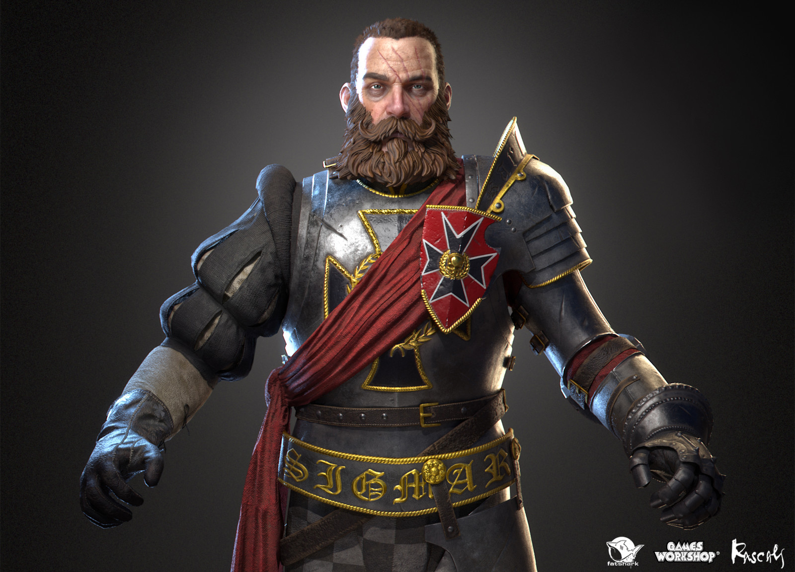 Markus Kruber: Mercenary is one of the playable hero variants Rascals made for Warhammer: Vermintide II, Fatshark's award-winning co-op meelee action published by Games Workshop.