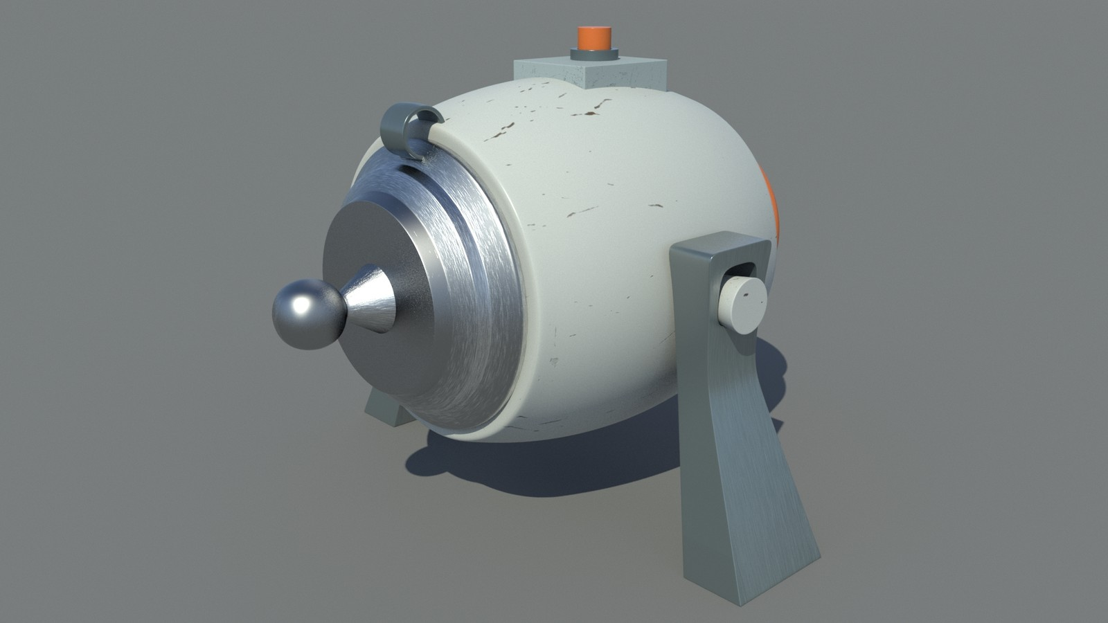 Concept, model, shading and texturing