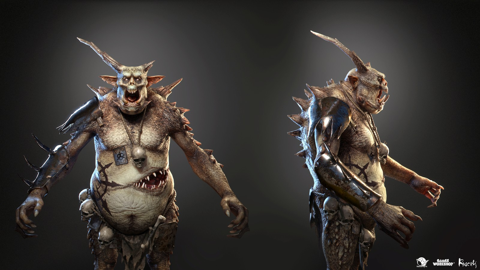Chaos Troll stood at the beginning of our collaboration with Fatshark on Warhammer Vermintide II in from 2016 to 2018.