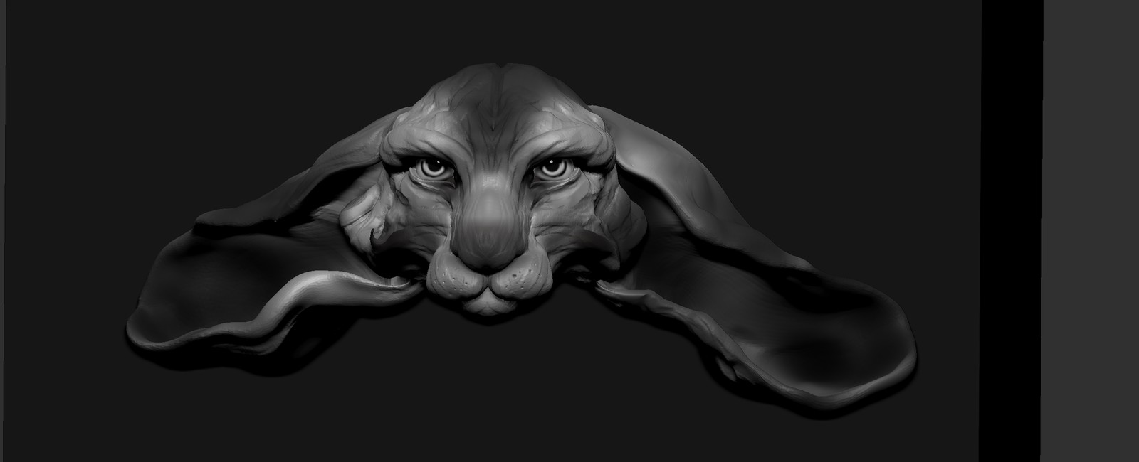 WIP speed sculpt based upon an original concept by Beth Cavener