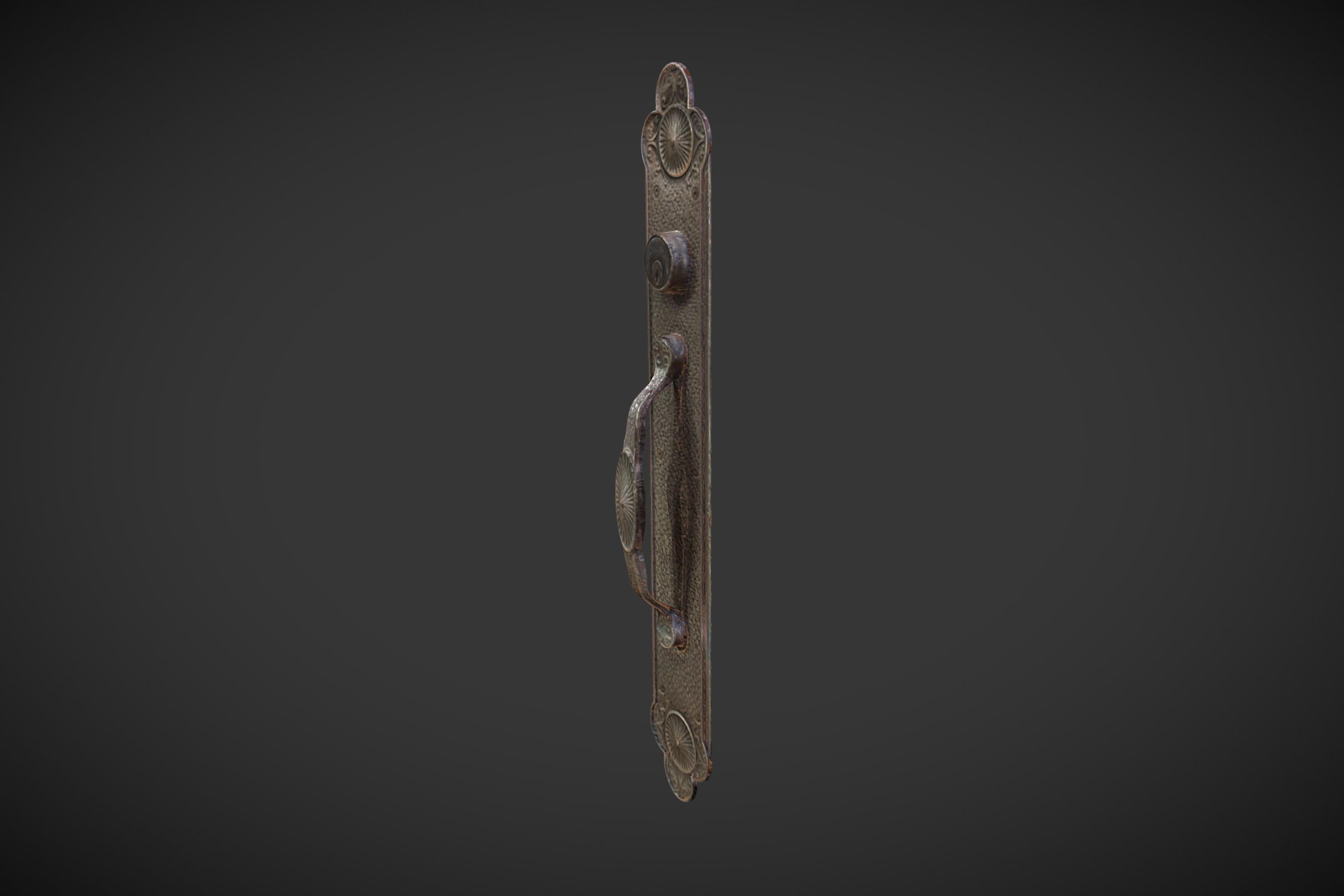 3D Scanned Door Handle