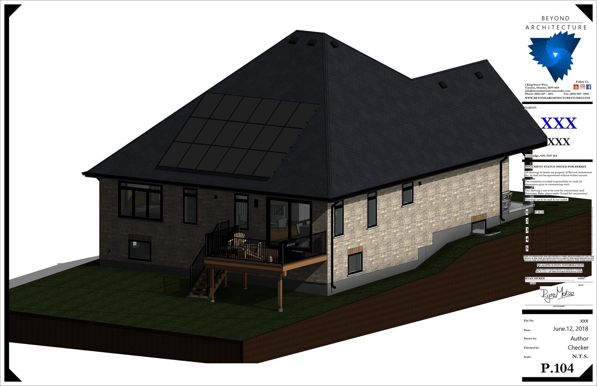 Beyond Architecture - Revit Template - Bungalow Construction Sheet