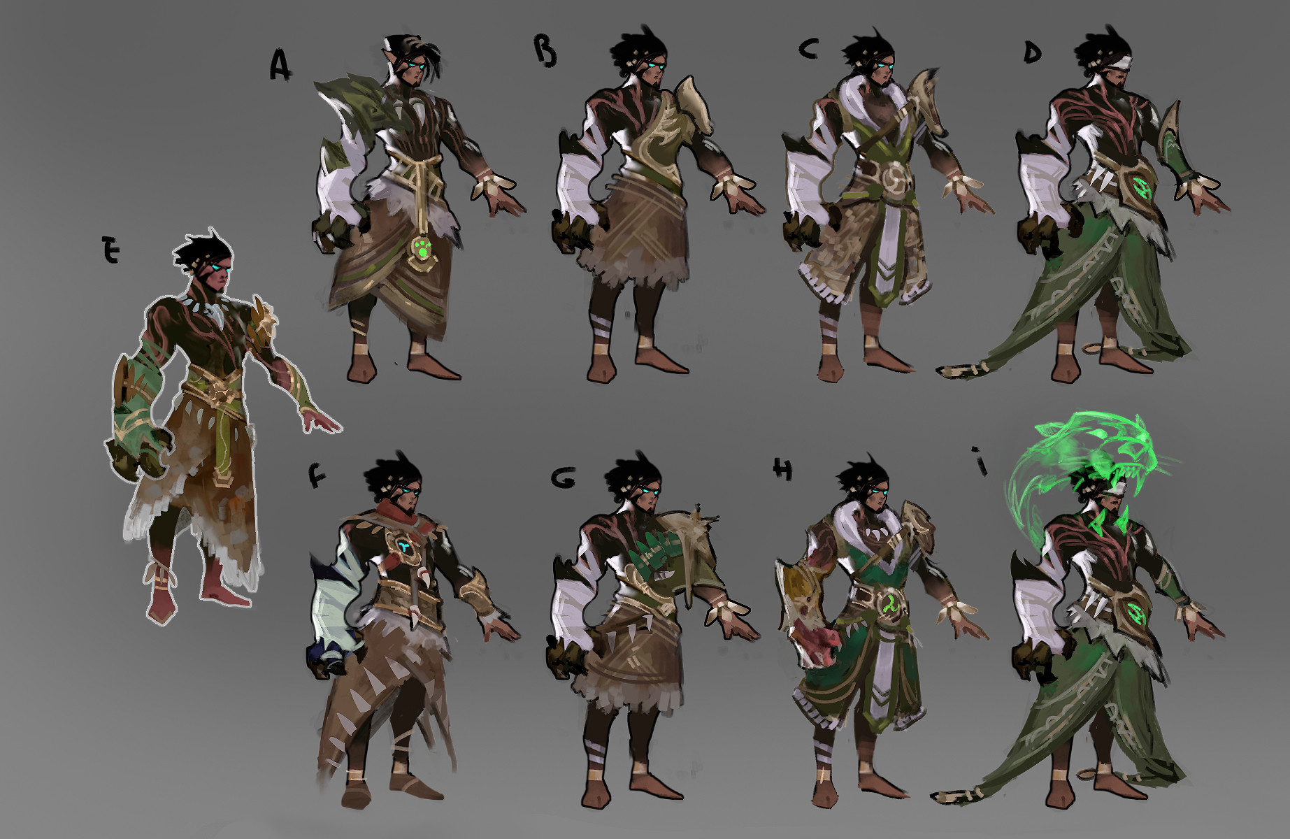 Yan kyohara druid fighter exploration 1