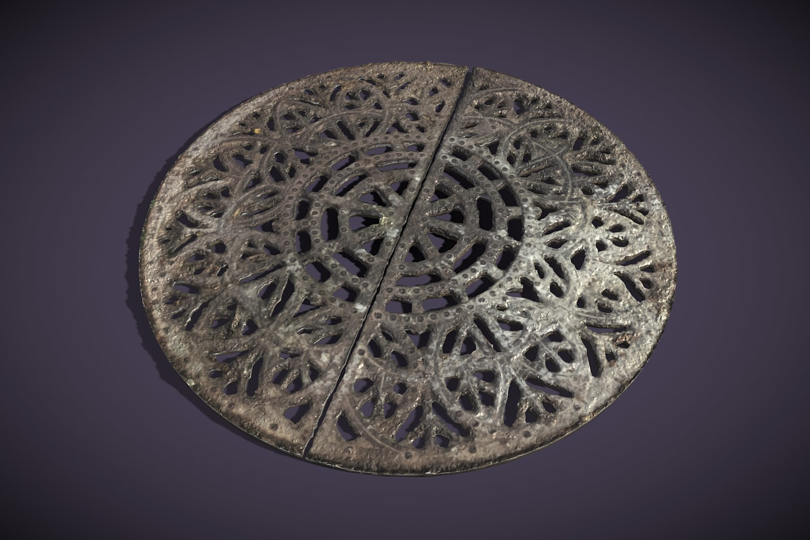 Ornate Sewer Grate
