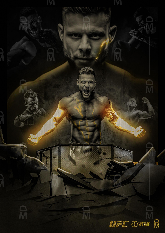 Artstation Ufc Fight Poster Vol 01 Ayub Shaikh